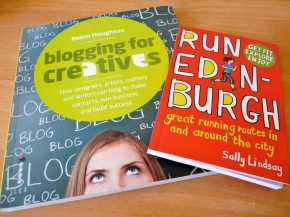 Books about blogging and running